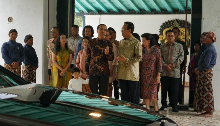 Silaturahmi ke Keraton Yogyakarta, Begini Aktivitas Jokowi