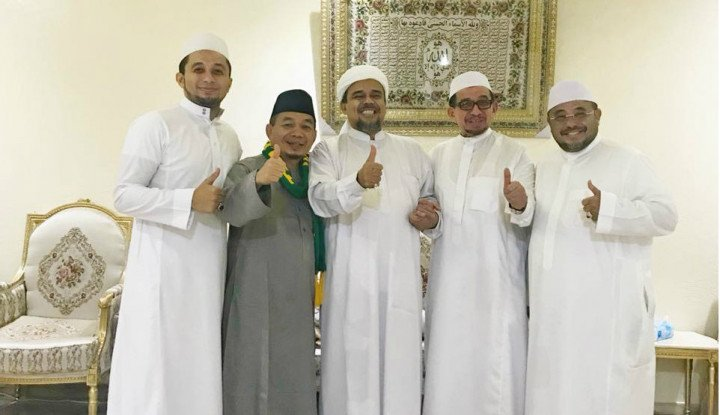 Habib Rizieq Dipolisikan Politikus PDI-P, Polisi Bergerak...