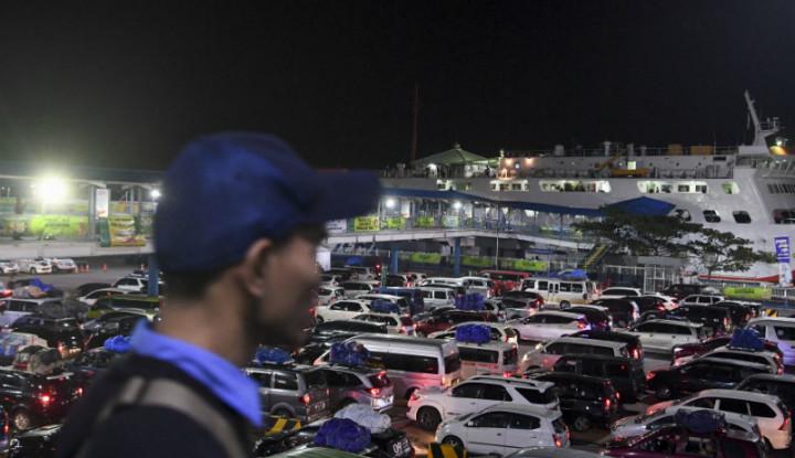 Puncak Arus Balik di Pelabuhan Merak Jatuh Hari Ini - Warta Ekonomi