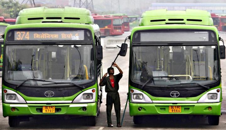 Pemerintah New Delhi Siapkan 1.000 Bus Listrik