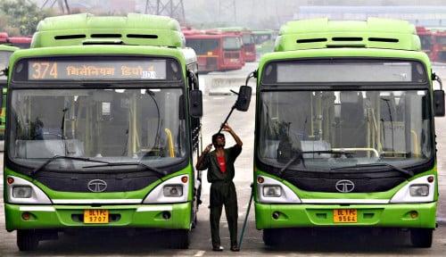 Foto Pemerintah New Delhi Siapkan 1.000 Bus Listrik