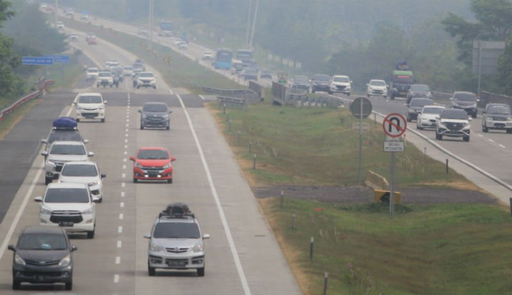 Polisi Hentikan Sementara Kebijakan One Way di Tol