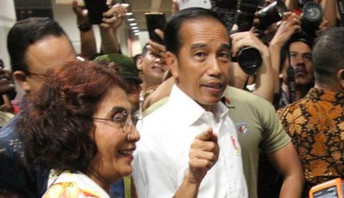 Foto Jokowi Lega, 5 Tahun ke Depan Tak Ada Lagi Beban