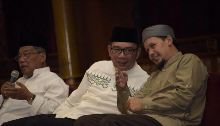 Ridwan Kamil dan Ustaz Rahmat Baequni Diskusi Soal Illuminati Masjid Al Safar, Hasilnya... - Warta Ekonomi