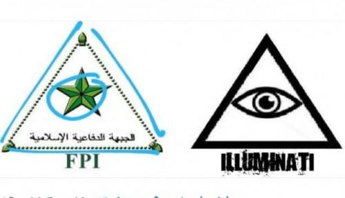 Foto Logo FPI Juga Segitiga, Illuminati?