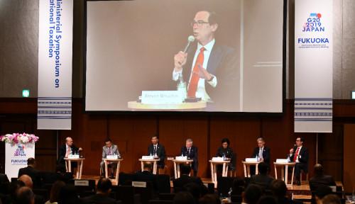 Foto Forum G20 Sepakat Perang Dagang Berdampak Buruk ke Ekonomi Global