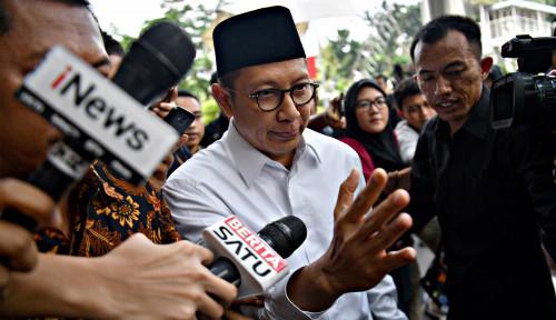 Foto Lukman Ogah Jadi Menteri Jokowi Lagi, Gara-Gara Dipanggil KPK?