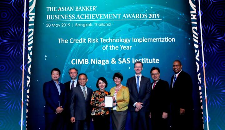 CIMB Niaga Raih Penghargaan dari The Asian Banker