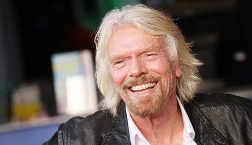 Foto Richard Branson: Karyawan Bisa Bisnis Tanpa Perlu Resign