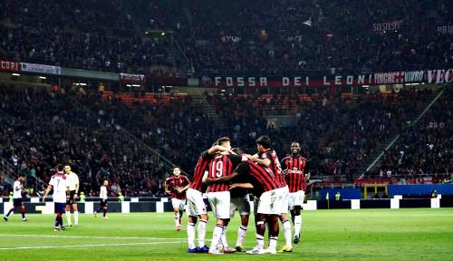 Foto Sepercik Asa AC Milan dari Bangku Cadangan