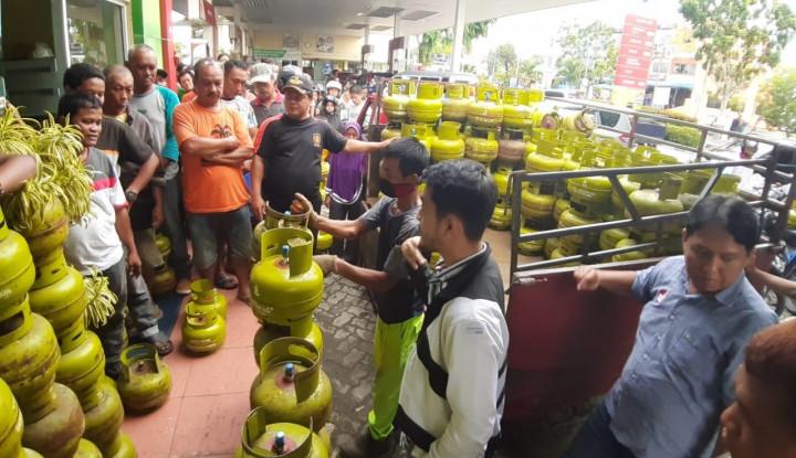 Konsumsi LPG di Sumatera Pasca Lebaran Telah Normal - Warta Ekonomi
