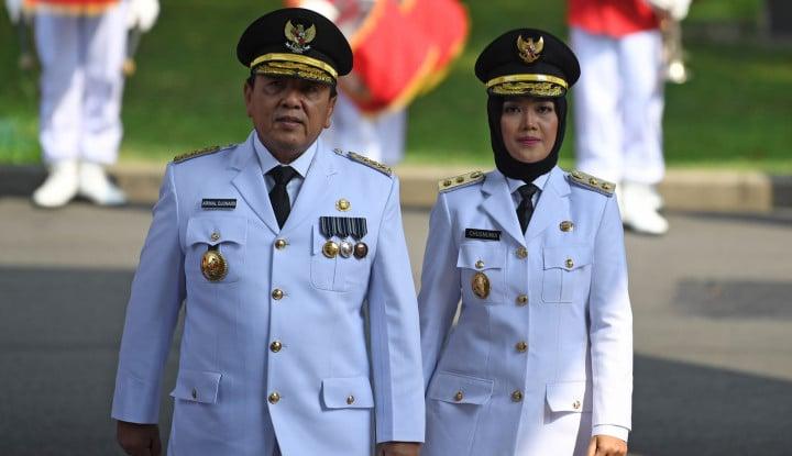 Waduh! Usai Dilantik Gubernur Lampung Langsung Dibawa ke KPK