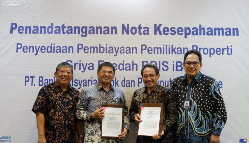Foto Perluas Pemasaran KPR, BRI Syariah Gandeng Ciputra Residence