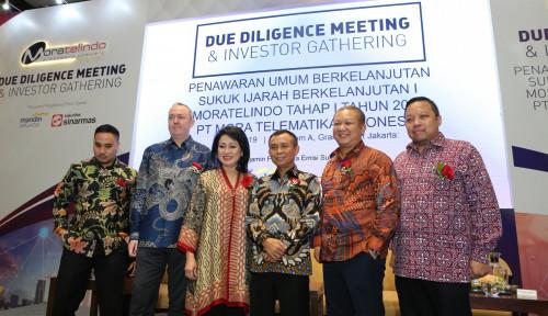 Foto Moratelindo Terbitkan Sukuk Rp1 Triliun, Bunganya?