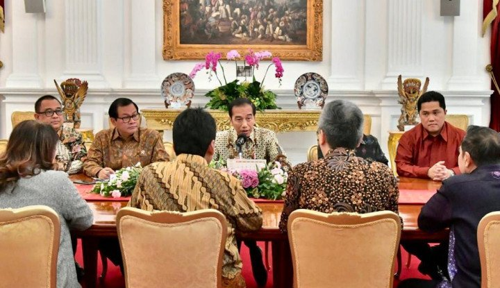 Kali Ini Apindo dan Hippindo Diundang Jokowi ke Istana - Warta Ekonomi