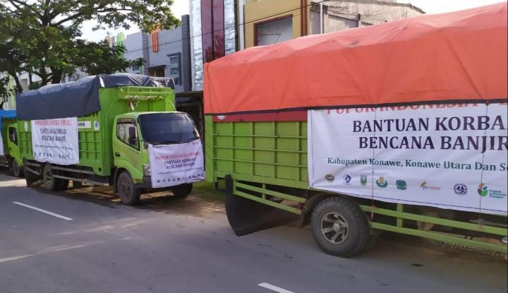 Banjir di Sulawesi, Grup Pupuk Indonesia Salurkan Bantuan Tanggap Bencana - Warta Ekonomi