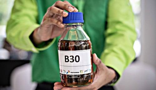 Terhadap Target EBT Nasional, B30 Berkontribusi Lebih dari 30%