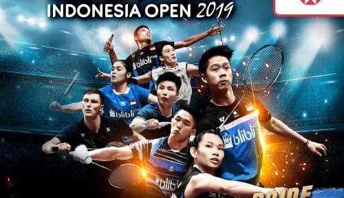 Foto Juara Tunggal Putra Indonesia Open, Ini Rahasia Chou