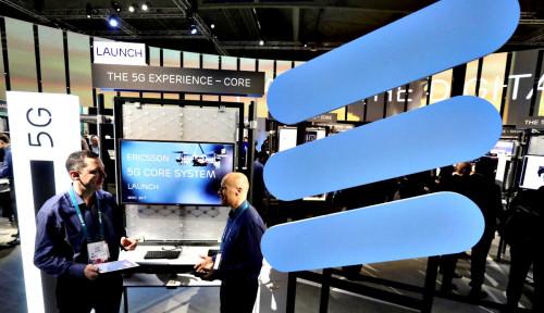 Foto Ericsson: Kamilah Pemimpin Industri Jaringan 5G, Bukan Perusahaan China Itu!