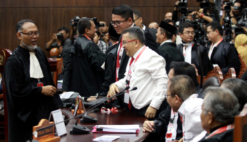 Foto Tim Jokowi Ketakutan, Kata Kubu Prabowo