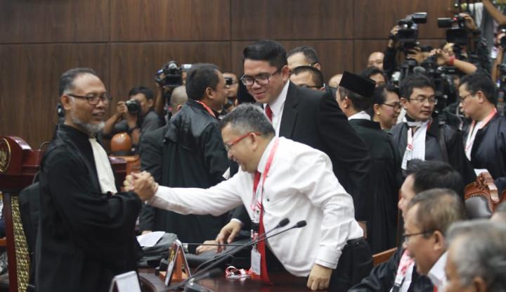 Di Hadapan Hakim, Tim Prabowo Tetap Klaim Menang