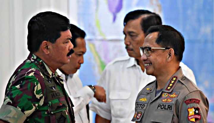 Jokowi Sebut Suara Tito Karnavian Kalah Dikit dari... - Warta Ekonomi