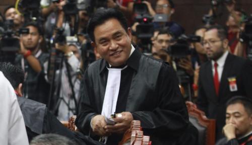 Diisukan Jadi Pengacara Demokrat Kubu Moeldoko, Yusril Jawab Singkat