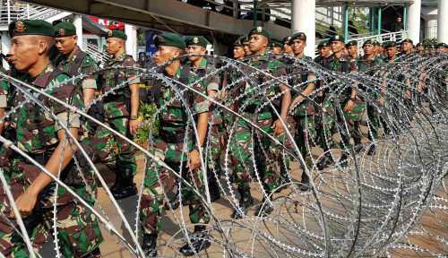 Foto Pasca-Rusuh 22 Mei, Demokrasi Indonesia Mundur