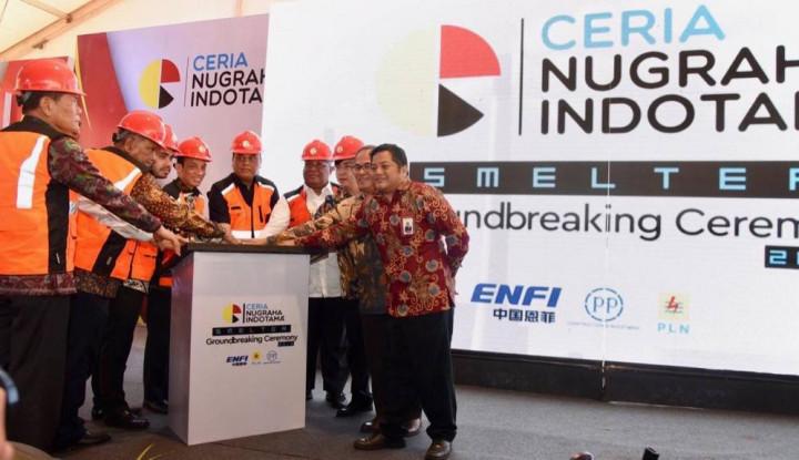 Bersama CNI, PTPP Mulai Pembangunan Smelter di Sulawesi Tenggara - Warta Ekonomi