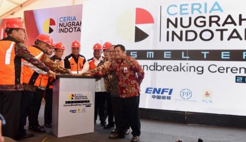 Foto Bersama CNI, PTPP Mulai Pembangunan Smelter di Sulawesi Tenggara