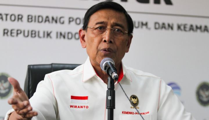 Presiden Jokowi Didesak Evaluasi Kinerja Wiranto - Warta Ekonomi