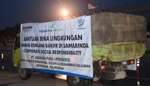 Foto BUMN Bersinergi Salurkan Bantuan Ratusan Juta ke Konawe Utara