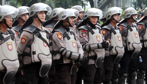 Foto Meski Belum ada Laporan Demo, DPR Sudah Dijaga 5.500 Personel Gabungan