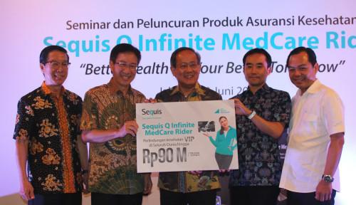 Foto Sequis Perkenalkan Asuransi dengan Perlindungan Rp90 Miliar