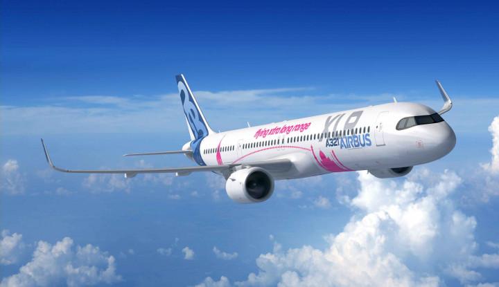 Airbus Rilis Versi Jangka Panjang Jet A321neo, Jarak Tempuhnya Terjauh