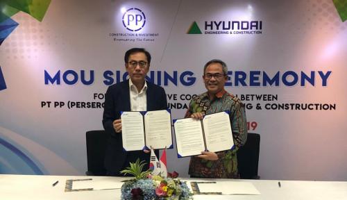 Foto PTPP Cari Peluang Bisnis Bareng Hyundai E&C