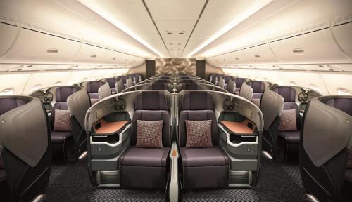 Foto Dapat Pembaruan dari Airbus, Kabin Armada Singapore Airlines Makin Lapang