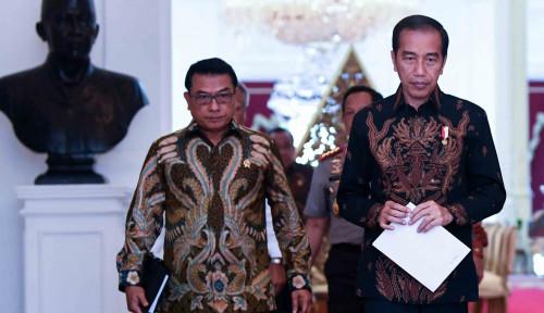 Foto Moeldoko Tuduh Saksi Prabowo Lakukan Pelintiran Ngawur