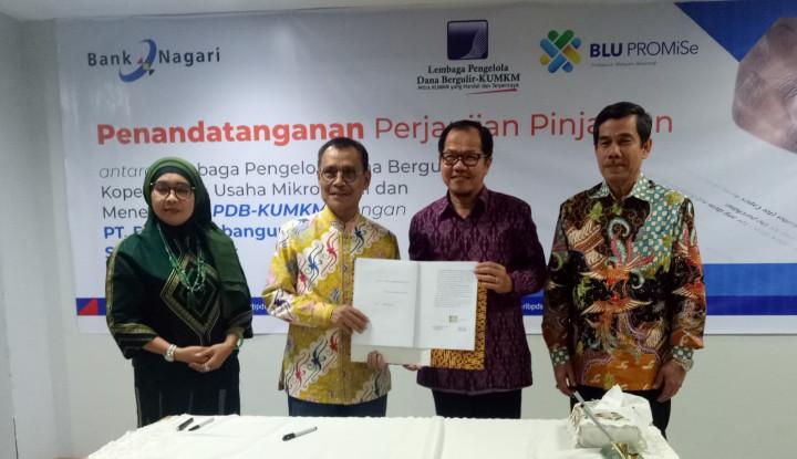 LPDB-KUMKM Salurkan Dana Bergulir Rp100 M untuk Sumbar - Warta Ekonomi
