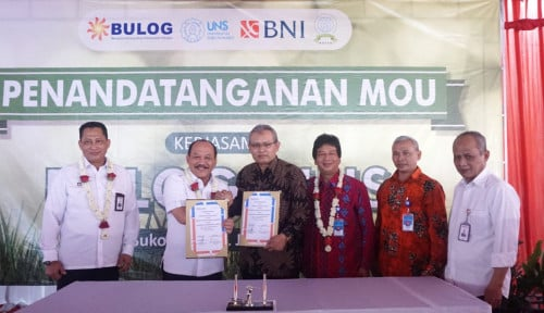 Bulog Teken MoU dengan UNS di Wilayah Eks Karisidenan Surakarta