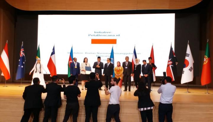 Selamat! BNPB Terima Penghargaaan Bergengsi dari PBB - Warta Ekonomi