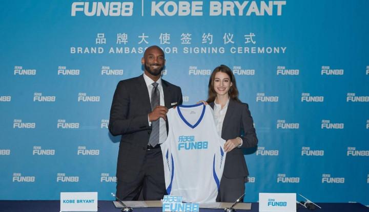 Sah, Kobe Bryant Jadi Duta Resmi Fun88 - Warta Ekonomi