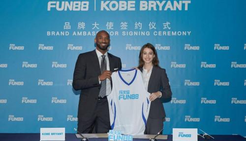 Sah, Kobe Bryant Jadi Duta Resmi Fun88