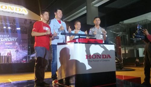 Foto Honda Gelar Kejuaraan Slalom, Hadiah Utamanya Bikin Ngilerr