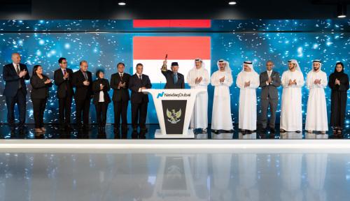 Foto Pemerintah Rayakan Listing 2 Sukuk Hijau US$2 M di Nasdaq Dubai