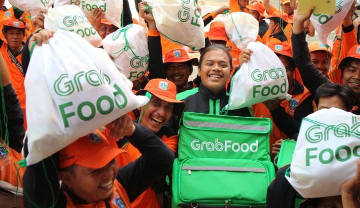 Rayakan HUT DKI Jakarta, Grab Food Gandeng Pasukan Oranye - Warta Ekonomi