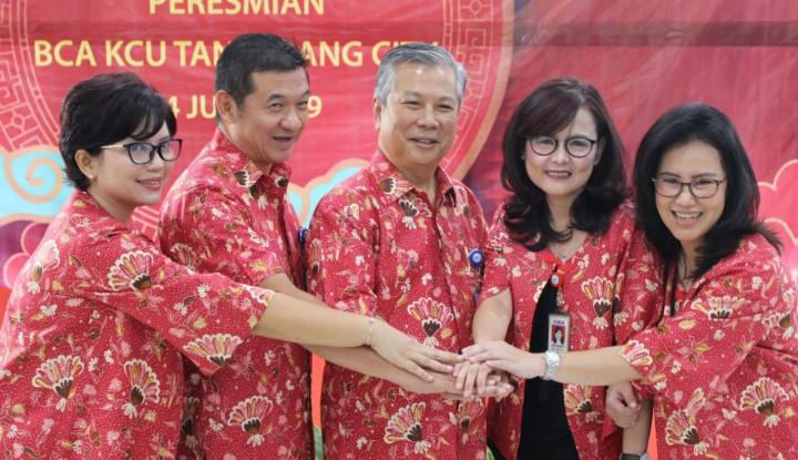 BCA Resmikan Kantor Cabang Utama Tangerang City - Warta Ekonomi