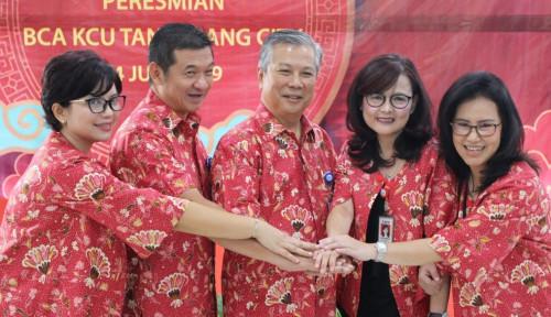 Foto BCA Resmikan Kantor Cabang Utama Tangerang City