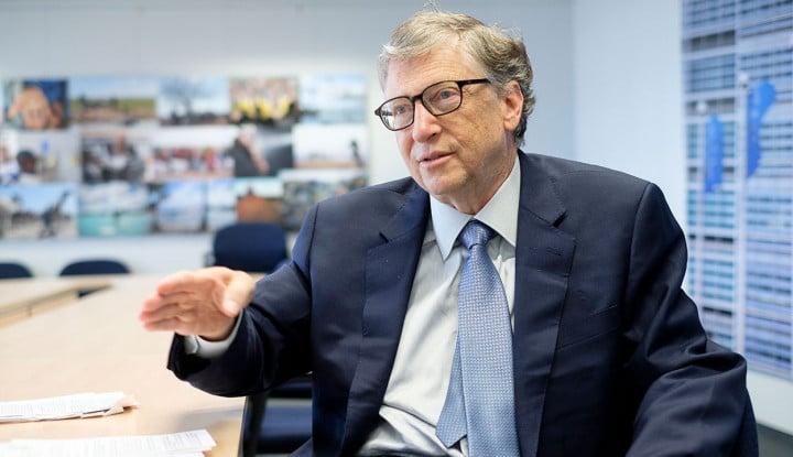 Bill Gates Kembali Jadi Orang Terkaya Kedua di Dunia - Warta Ekonomi