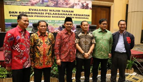 Foto Didukung 4 Lembaga, Kementan Jamin RIPH dan Wajib Tanam Bawang Putih Lancar